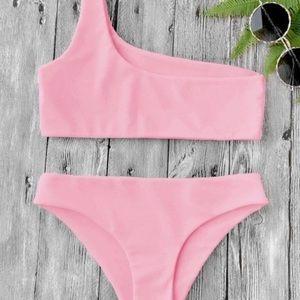 ✨ Zaful One Shoulder Bikini